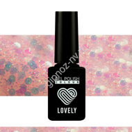 Гель-лак Lovely Burlesk №BL06, 7 ml