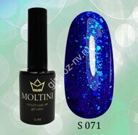 "Гель-лак Moltini ""Shine"" №S071 (12 мл)"