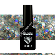 Гель-лак Lovely Burlesk №BL07, 7 ml