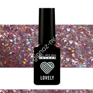 Гель-лак Lovely Burlesk №BL02, 7 ml