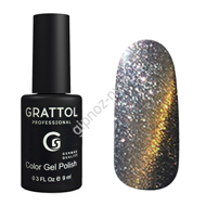 Гель-лак Grattol Color Gel Polish  Magic 003 Chrome9мл