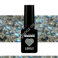 Гель-лак Lovely Burlesk №BL08, 7 ml